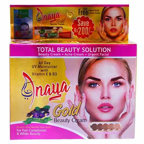 Anaya Gold Beauty Cream