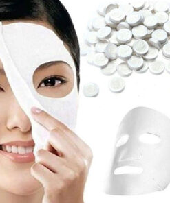 Compressed-Tissue-Face-Mask-Tablets