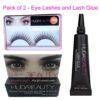 Eye-Lashes and Lash-Glue