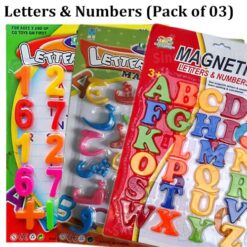 Magnetic Letters & Number
