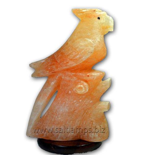 Parrot-on-Tree-Salt-Lamp