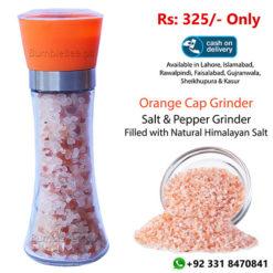 Salt & Pepper Grinder-Orange Cap