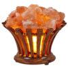 Salt Lamp Wooden Basket