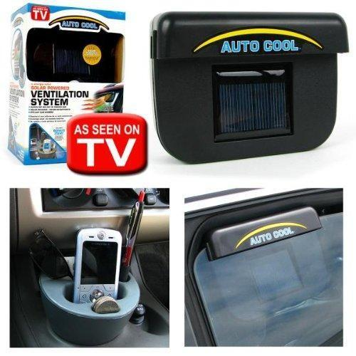 Solar Powered Car Auto Cooling Fan